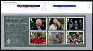 HERRICKSTAMP GREAT BRITAIN Sc.# 3801 Prince Charles Birthday Presentation Pack