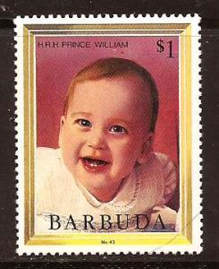 Barbuda  #  627  Mint  N H