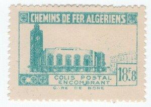 (I.B) France Colonial Railway : Algeria Chemins de Fer 18.8F