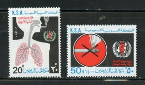 SAUDI ARABIA SCOTT# 792-793 MINT NEVER HINGED AS SHOWN