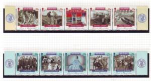 Isle of Man  Sc 1108-9 2005 Everyday Life stamp set mint NH