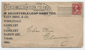 1894 Toledo Ohio Keen Bros. & Co. ad cover [3260]