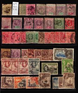 Collection British Colonies Africa Gold Coast Sierra Leone Kenya Rhodesia stamps