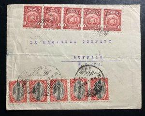 1940s Sucre Bolivia Commercial Cover To Buffalo NY USA