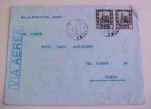 LIBYA 1936 BENGASI  TO ITALY