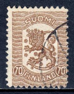 Finland - Scott #116 - Used - Hinge bump - SCV $25