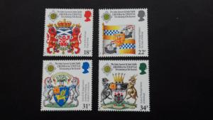 Great Britain 1987 300th Anniversary of Revival of the Order of Thistle Mint