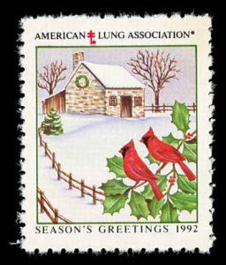 WX Christmas Seal Mint (NH) 1992