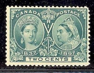 Canada #52 Mint F-VF NH