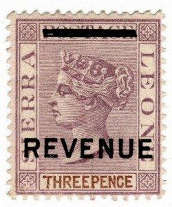 (I.B) Sierra Leone Revenue : Stamp Duty 3d
