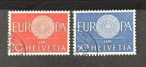 Switzerland 1960 #400-01, Used, CV $.65