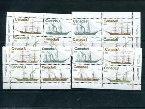 Canada #671 Mint VF NH M/S  Plate Blocks