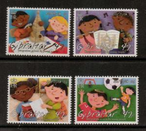 GIBRALTAR SG1168/71 2006 EUROPA MNH
