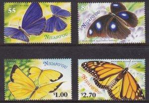 Niuafo``ou, Fauna, Butterflies MNH / 2000