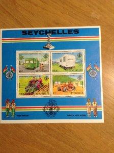 Seychelles  # 494A  MNH