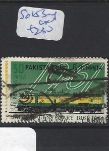 PAKISTAN  (P1810BB)  SG  183-4   VFU