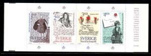 Sweden Sc 1505a 1984 STOCKHOLMIA 86 stamp bklt pane mint NH
