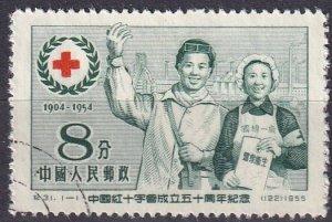China #242  F-VF Used CV $3.00 (Z1621)