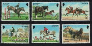 Jersey Horses 6v SG#758-763