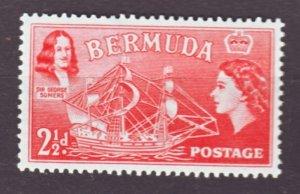 J22174 Jlstamps 1953-8 bermuda part of set mnh #147 ship