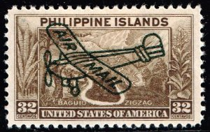 Philippines Stamp #C51 32c 1933 AIR MAIL MH/OG STAMP