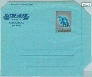 86079 - HONDURAS - POSTAL HISTORY -  POSTAL STATIONERY Aerogramme - FLAGS