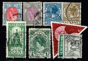 NETHERLANDS STAMP USED STAMPS COLLECTON LOT #3
