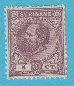 Suriname 5 N° Gomme comme Publié N° Défauts Très Fine