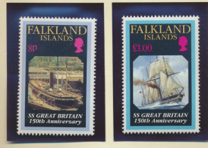 Falkland Islands Stamps Scott #582 To 583, Mint Never Hinged - Free U.S. Ship...
