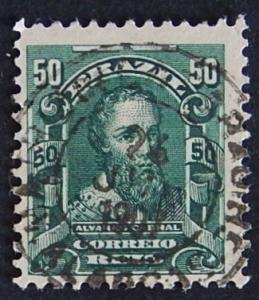 Postage stamp, Brazil, №9-(22B-3IR)