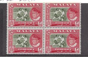 Malaya (Johore), 167. Sultan Ismail Block(4),**MNH**