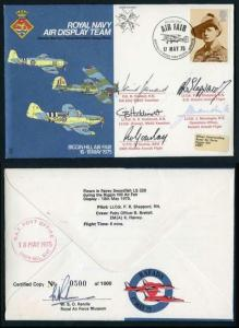 AD8e Royal Navy Air Display Team Signed by Team (D)