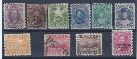 HAWAII MINT AND USED GROUP SCV $74.50 LOOK!