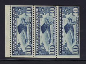 C10A VF OG mint never hinged Pane with nice color cv $ 120 ! see pic !
