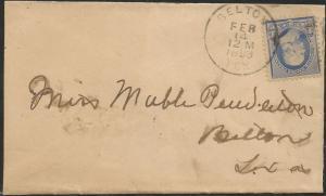TEXAS BELL COUNTY (1893 Belton)