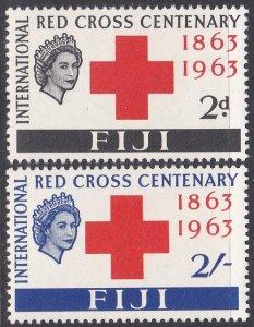 Fiji Sc #203-204 Mint Hinged