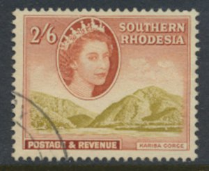 Southern Rhodesia  SG 88  SC# 91 Kariba Gorge  Used / FU    see scans