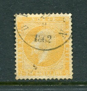 x316 - NORWAY Scott #2 Used in 1862. Cat $150+