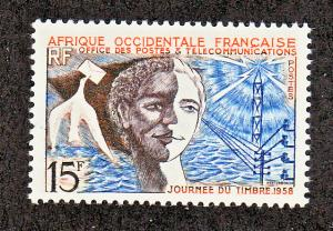 French West Africa Scott #76 MH