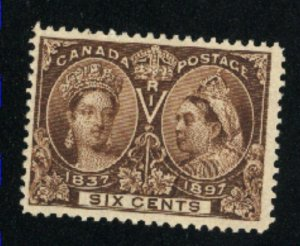 Canada #55  used  VF 1897   PD
