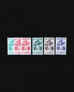 VINTAGE:VENEZUELA 1953 OGNHPOF SCOTT# C473-474,C478-C481 $ 53.25 LOT#VEN1953F