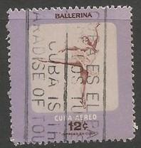 Cuba C159 VFU BALLERINA A1129-4