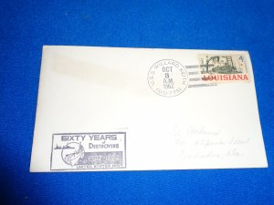 US NAVAL COVER: 1962 USS WILLARD KEITH