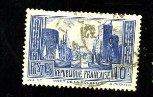 FRANCE #251A USED FVF SHT PERF Cat $26