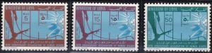 Libya 237-239 MNH (1963)