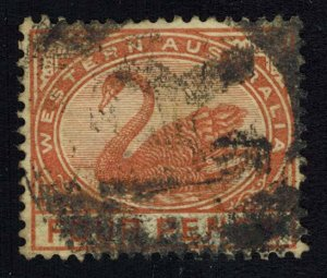 Western Australia Scott 65 Used.