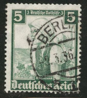 Germany Scott B71 used 1935 semi postal Berlin CTO