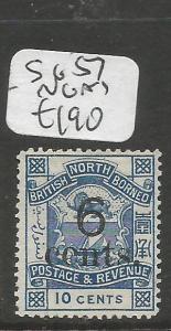North Borneo SG 57 NGAI (3clr)