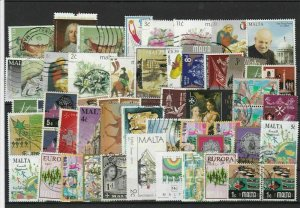Malta Used Stamps Ref 26320