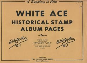White Ace United States Regular Issues Supplement USR 3 & 4 1959 & 1960